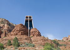 Chapel of the Rocks in Sedona, AZ Royalty Free Stock Photography