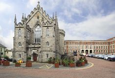 Chapel Royal in Dublin Castle. Dublin, Ireland - August 20, 2014: Chapel Royal in Dublin Castle Royalty Free Stock Photo