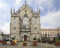Chapel Royal in Dublin Castle. Dublin, Ireland - August 20, 2014: Chapel Royal in Dublin Castle Stock Photography