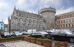 Chapel Royal and Record Tower in Dublin Castle Stock Photo