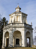 Chapel at sacro monte of varese Royalty Free Stock Image