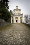 Chapel at sacro monte of varese Stock Images