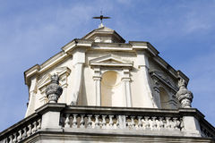 Chapel at sacro monte of varese Stock Image