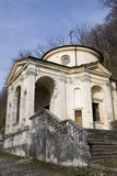 Chapel at sacro monte of varese Royalty Free Stock Photos