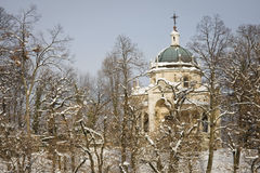 Chapel of sacro monte, varese Stock Photo