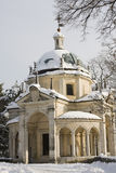 Chapel of sacro monte, varese Royalty Free Stock Photography
