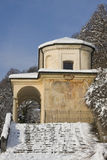 Chapel of sacro monte, varese Royalty Free Stock Image