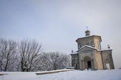 Chapel of sacro monte, varese Royalty Free Stock Image