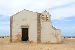 Chapel in Sagres, Algarve, Portugal Stock Image