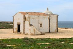 Chapel in Sagres, Algarve, Portugal Royalty Free Stock Image