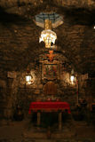 Chapel of Saint Ananias. Is an ancient underground structure in Damascus, Syria, that is alleged to be the remains of the home of Ananias of Damascus, where Royalty Free Stock Photography
