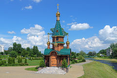 Chapel of Saint Barbara in Slutsk, Belarus Stock Photos