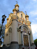 The chapel of Saint Catherine. Evening view The chapel of Saint Catherine.  Ekaterinburg, Russia Stock Photo