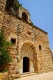 Chapel, Saint Elishaa Monastery. Saint Elishaa Monastery and Hermitage, 14th century, Wadi Qadisha, or the Holy Valley in the north of Lebanon. An UNESCO World Royalty Free Stock Photo