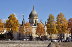 Chapel Saint-Julien at Laval in France Royalty Free Stock Image