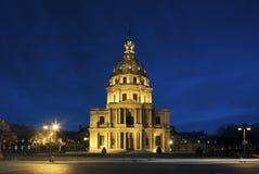 Chapel Saint Louis des Invalides, burial place of Napoleon Bonap Stock Image