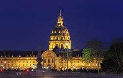 Chapel of Saint-Louis-des-Invalides 1679 in Les Invalides National Residence of Invalids complex, Paris, France
