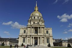 Chapel of Saint-Louis-des-Invalides, Paris, France Stock Photos
