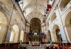 Chapel of Saint Louis des Invalides, Paris, France. PARIS - JULY 1: Chapel of Saint Louis des Invalides on July 1, 2013 in Paris. Chapel built in 1679 is the Stock Image
