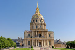 Chapel of Saint-Louis-des-Invalides in Paris, France Royalty Free Stock Image