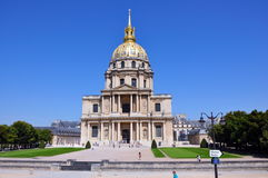 Chapel of Saint-Louis-des-Invalides, Paris Stock Photos