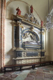 Chapel of the saint Martin in The Archicathedral Basilica in  Poznan in Poland Royalty Free Stock Image