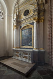 Chapel of the saint Martin in The Archicathedral Basilica in  Poznan in Poland Royalty Free Stock Photos