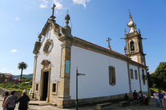 Chapel of Saint Michael in Ponte de Lima Stock Photography