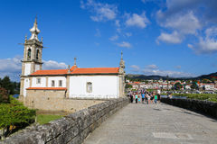 Chapel of Saint Michael in Ponte de Lima Stock Photos
