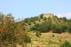 Chapel of Saint-Pierre de belloc. (Vinça),Roussillon region of France Stock Photo