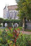 Chapel Saint Piet Garden Royalty Free Stock Images
