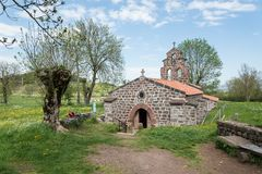 Chapel of Saint-Roch in France stock image