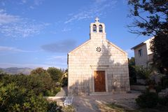 Chapel of Saint Teresa in Racisce, Croatia royalty free stock image
