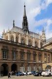 Chapel Sainte-Chapelle in Paris royalty free stock photos