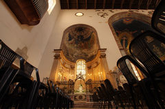 Chapel in the Salerno cathedral Royalty Free Stock Photography
