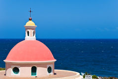 Chapel on San Juan Royalty Free Stock Photography