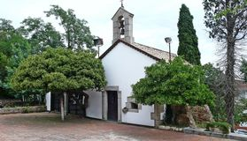 Chapel of Sant Jaume-Tordera Royalty Free Stock Photos