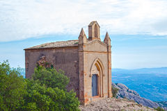 Chapel of Sant Joan in Montserrat mountains Royalty Free Stock Photography