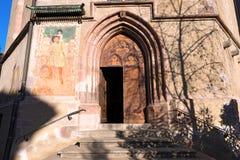 Chapel of Santa Barbara - Merano Italy Royalty Free Stock Images