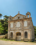 Chapel Santa Lucia on Cap Corse in Corsica Stock Image