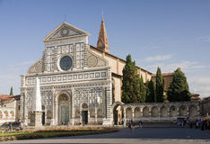 Chapel Santa Maria Novella in Florence. Italy. Chapel of Santa Maria Novella has a very valuable frescoes and is often visited by tourists Stock Photo