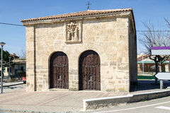Chapel of the Santo Cristo del Humilladero in Pesquera de Duero Royalty Free Stock Photography