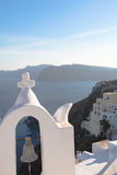 Chapel on Santorini island Stock Images