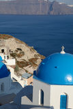 Chapel on Santorini island Royalty Free Stock Photography