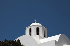 Chapel on Santorini island Royalty Free Stock Photo