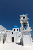 Chapel on Santorini island Royalty Free Stock Images