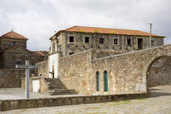 Chapel of Sao Frutuoso royalty free stock photos