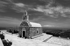 Chapel in Schinoussa island Royalty Free Stock Photos