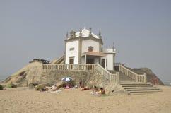 Chapel on the sea Stock Photo