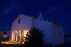 Chapel of Senhora da Rocha Stock Images